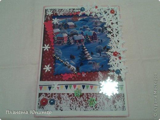 Добрый, добрый всем вечер! Ох, кто-то был так прав, когда говорил мне, что 22-мя открытками я не обойдусь... Не обошлась... Срочно понадобилось еще две... фото 5