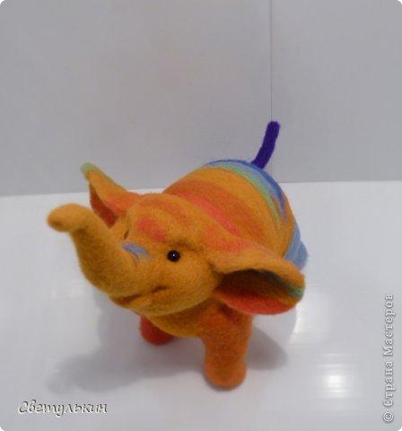 Радужный слонёнок. фото 4