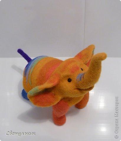 Радужный слонёнок. фото 5