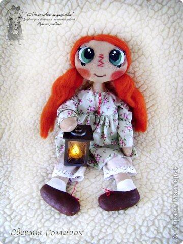Кукла Анюта (с фонариком) фото 1