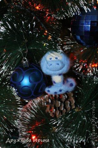 Вот так можно использовать старые куклы))) Мои Дед Мороз со Снегуркой)) фото 2