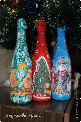 Вот так можно использовать старые куклы))) Мои Дед Мороз со Снегуркой)) фото 3