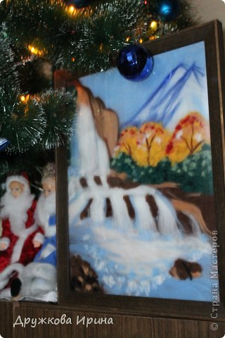 Вот так можно использовать старые куклы))) Мои Дед Мороз со Снегуркой)) фото 4