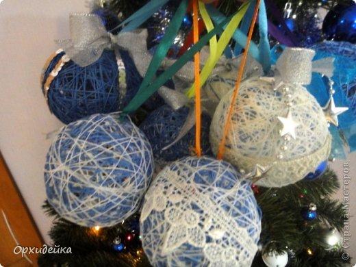 Подделки на новый год шары
