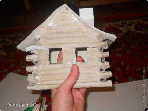 Как сделать дом для деда мороза своими руками