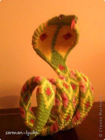 Вот и у меня теперь есть змея....спасибо Anechka Maksimenko