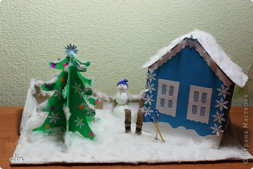 Домик для детского садика своими руками фото фото 207