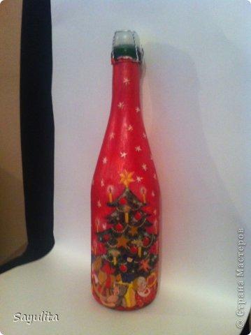 К Новому году первые бутылки. фото 2
