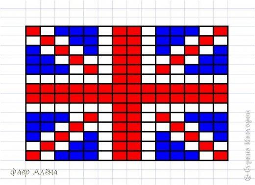 """Привет, жители СМ! Мне заказали серьги в виде флага Англии для любительницы этой страны. Т.к. я не """"дружу"""" с полимерной глиной, начала искать другие варианты. И вбив в поиске, нашла) Идея отсюда http://fotki.yandex.ru/users/nataplacebo/view/236542/?page=0 Спасибо автору! фото 5"""