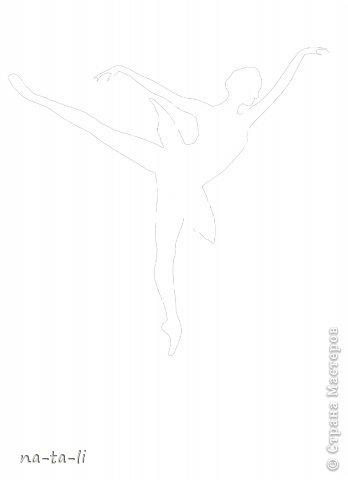 Мастер-класс Новый год Вырезание Снежинки-балеринки Бумага фото 9
