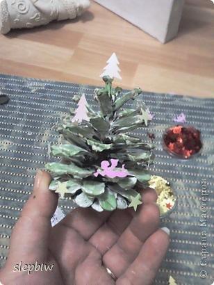 В преддверии Нового Года у нас в саду был объявлен конкурс на новогоднюю поделку. фото 6