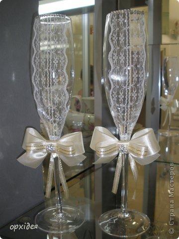 весільні бокали фото 2