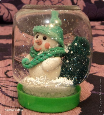 Фото снежный шар своими руками