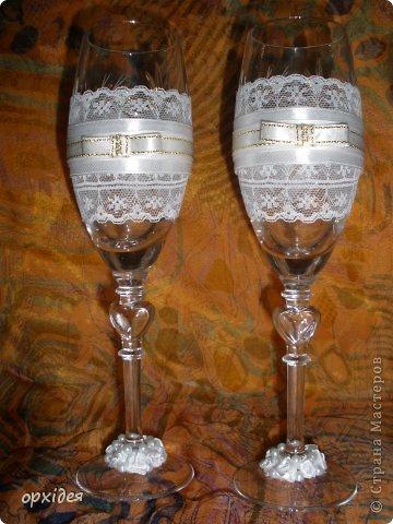 весільні бокали фото 4