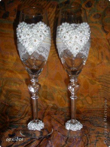 весільні бокали фото 5