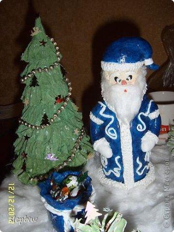В преддверии Нового Года у нас в саду был объявлен конкурс на новогоднюю поделку. фото 17
