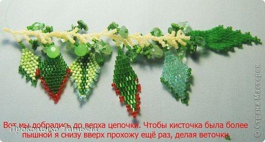 Вот такие кисточки ,как их собирать ,сделала мк-моя ученица-Наташа Вовченко фото 11