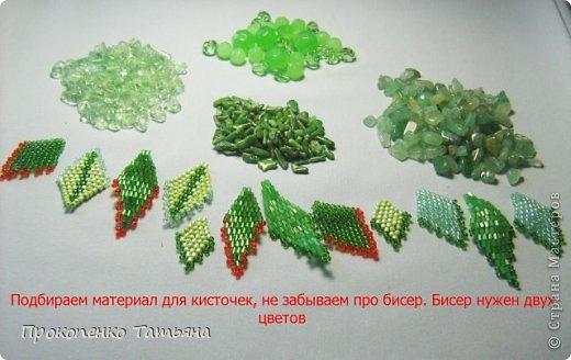 Вот такие кисточки ,как их собирать ,сделала мк-моя ученица-Наташа Вовченко фото 3