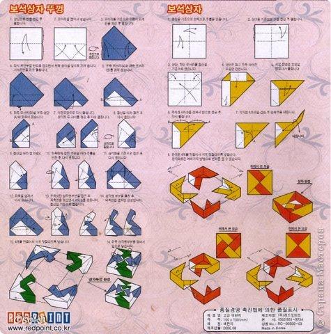 Видео как сделать оригами из бумаги коробочку