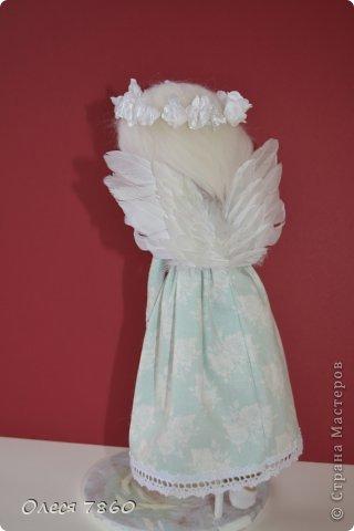 Здравствуйте! Представляю вам своего ангела - делала по этому МК http://needleworkworld.blogspot.com/2012/11/christmas-angel.html?showComment=1356710519381#c980383350990318736 Большое спасибо за вдохновение! фото 5