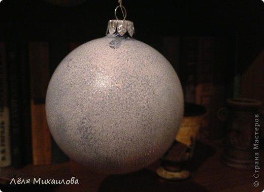 В этом году, к новому году сделала несколько таких винтажных шариков. Они придают ёлочке особый шарм старины. Сегодня поделюсь с вами, как я его делала. фото 3