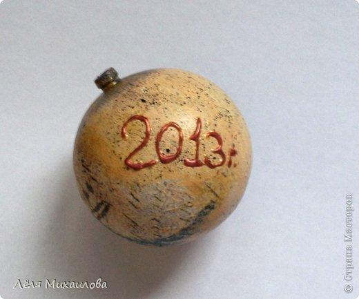 В этом году, к новому году сделала несколько таких винтажных шариков. Они придают ёлочке особый шарм старины. Сегодня поделюсь с вами, как я его делала. фото 11