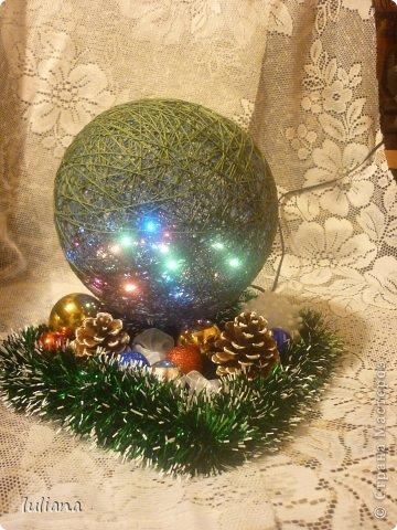 Мои первые светильнички к Новому году фото 3