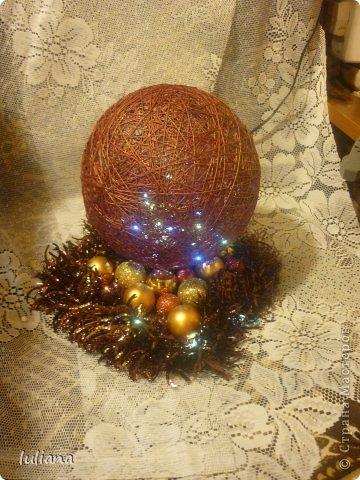 Мои первые светильнички к Новому году фото 2