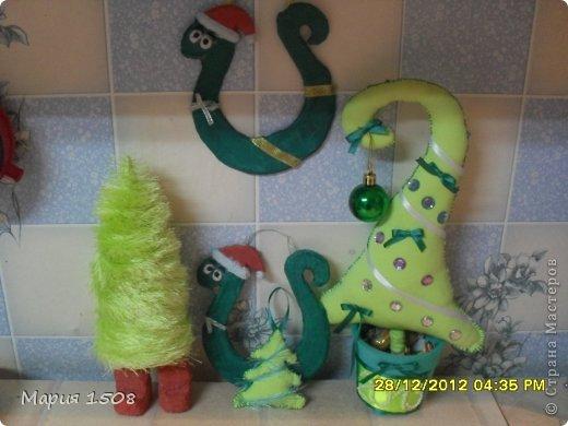 Змейки-подковы к Новому году фото 3