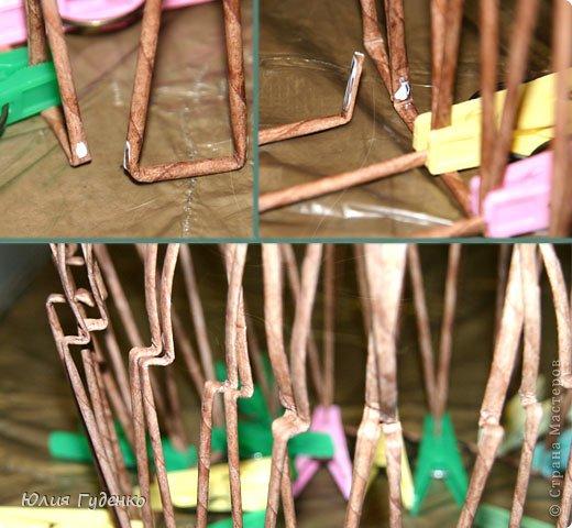 Интерьер Поделка изделие День матери Моделирование конструирование Плетение Кашпо «Сердечный велосипед» Авторская работа Бумажные полосы Клей Кофе Полиэтилен Проволока Скотч Сутаж тесьма шнур Трубочки картонные фото 21