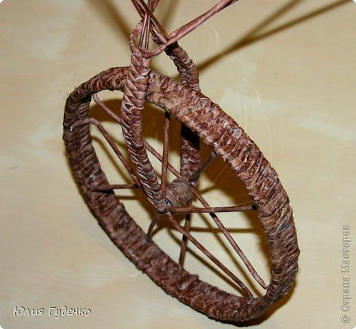 Рада всех приветствовать на моей страничке! До сей поры была равнодушна к плетёнкам, коих на сайте огромное количество, велосипедов тоже не счесть. фото 40