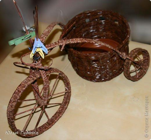 Рада всех приветствовать на моей страничке! До сей поры была равнодушна к плетёнкам, коих на сайте огромное количество, велосипедов тоже не счесть. фото 43