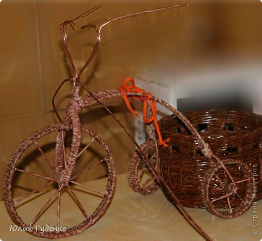 Рада всех приветствовать на моей страничке! До сей поры была равнодушна к плетёнкам, коих на сайте огромное количество, велосипедов тоже не счесть. фото 44
