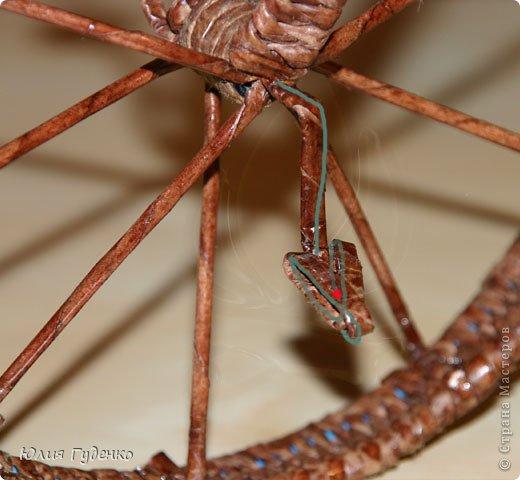 Рада всех приветствовать на моей страничке! До сей поры была равнодушна к плетёнкам, коих на сайте огромное количество, велосипедов тоже не счесть. фото 53