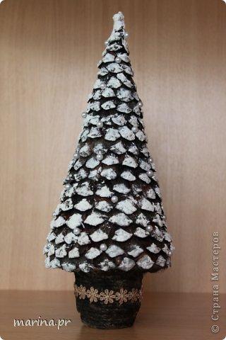 Бонсай топиарий Новый год Приятно дарить подарки Кофе Нитки фото 9