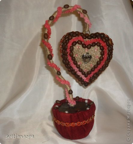 Сердечко подвешенное на кольце. фото 1