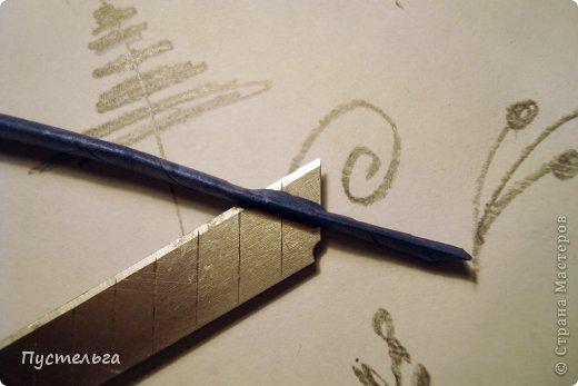 Поделка изделие Плетение Птица лесная голубица Бумага Трубочки бумажные фото 13