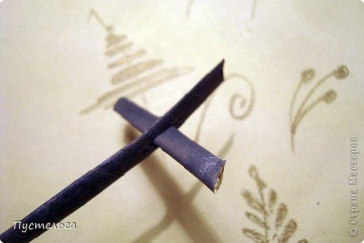 Поделка изделие Плетение Птица лесная голубица Бумага Трубочки бумажные фото 14