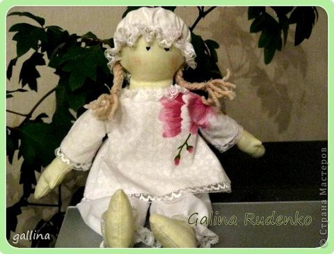 "Пошилась куколка в любимом стиле ""примитив"". фото 1"