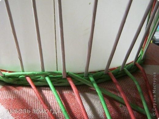 Мастер-класс Плетение Из брака брак  Трубочки бумажные фото 4