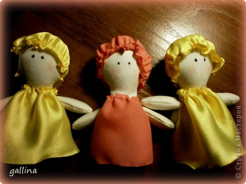 "Пошилась куколка в любимом стиле ""примитив"". фото 3"