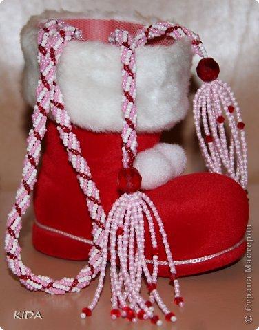 Длинна с кисточками ок. 120 см. подарок на Новый Год)))))))) фото 1