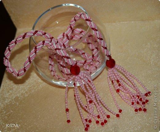 Длинна с кисточками ок. 120 см. подарок на Новый Год)))))))) фото 2