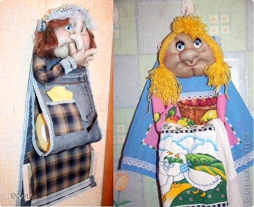 Куклы Шитьё Из старых джинсов Помощницы для мамы Капрон Проволока Тесьма шнур Ткань фото 1