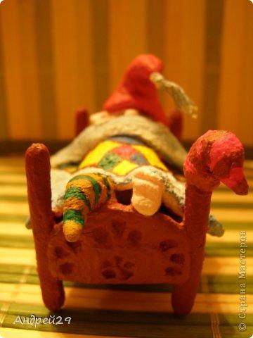 Спящий гном фото 5