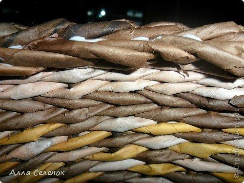 Мастер-класс Поделка изделие Плетение МК загибки Бумага газетная Трубочки бумажные фото 30