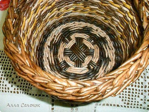Мастер-класс Поделка изделие Плетение МК загибки Бумага газетная Трубочки бумажные фото 32