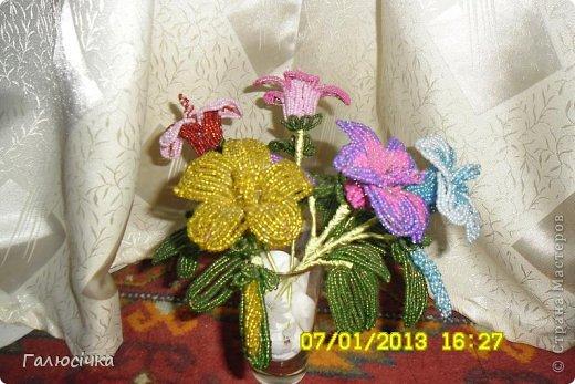 Квіточки з бісеру фото 4
