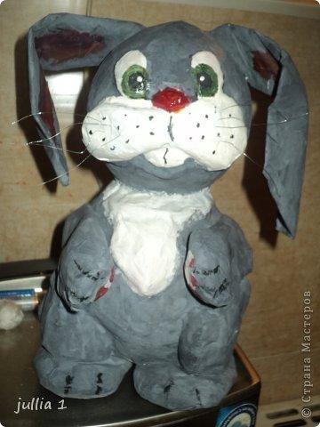 Зайчишка-пушишка фото 1