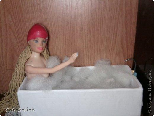 Как сделать ванну для куклы своими руками 41